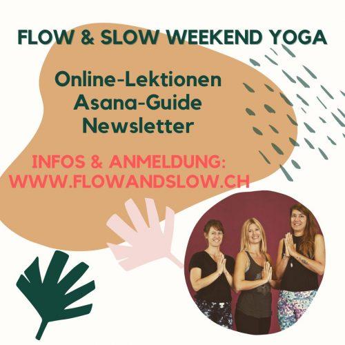 Flow Slow Weekend Yoga Angebot